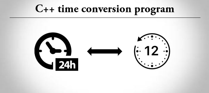 C++ program for time conversion