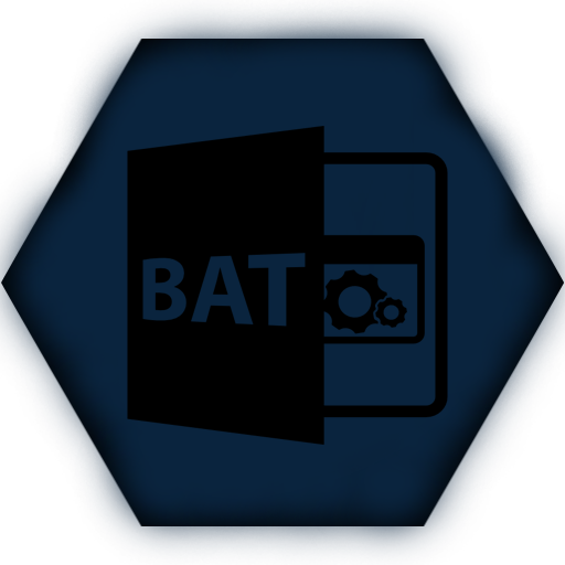 Batch file programming logo