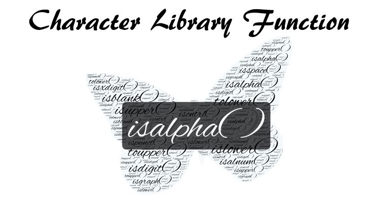C library function isalpha( )