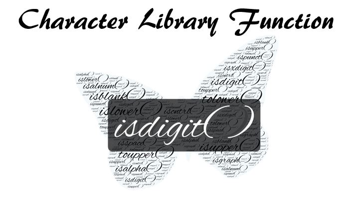 C library function isdigit( )