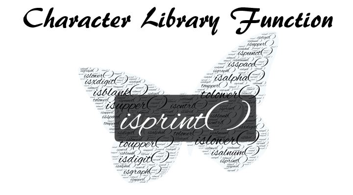 C Library Function isprint( )