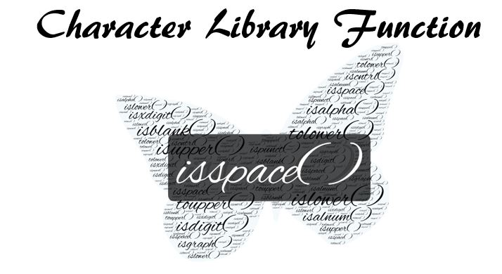 C Library Function isspace( )