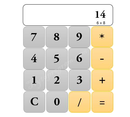 c program to make calculator