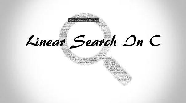 linear search in c programming
