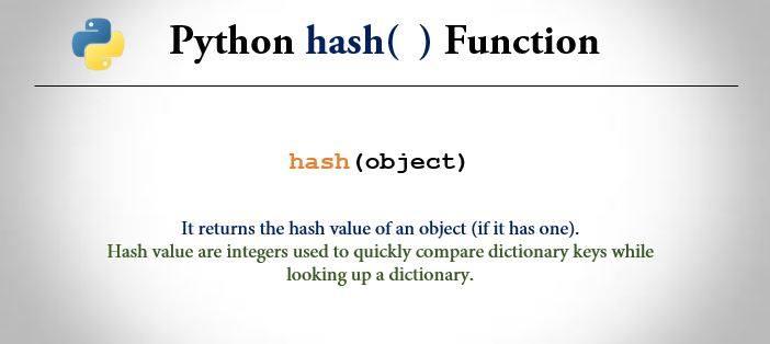 python hasattr() function