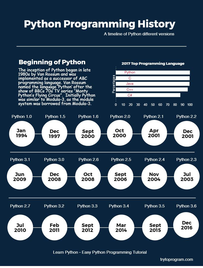 python programming history