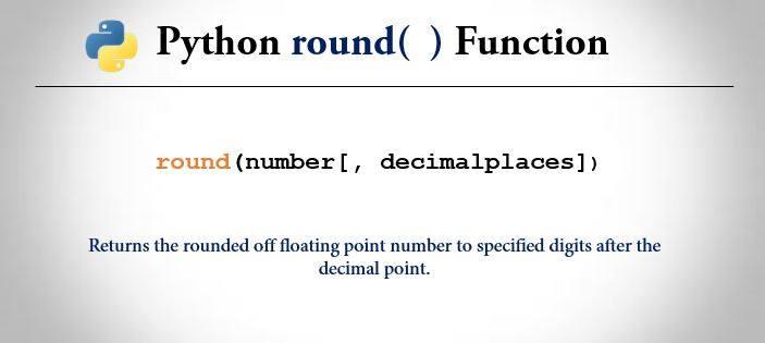 Python round() - Example and Explanation | Trytoprogram